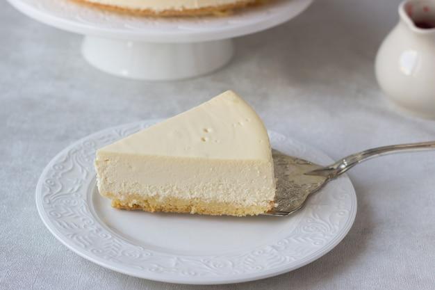 Klassieke new yorkse cheesecake