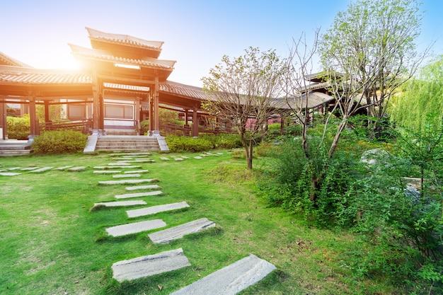 Klassieke tuin in chinese stijl, guizhou