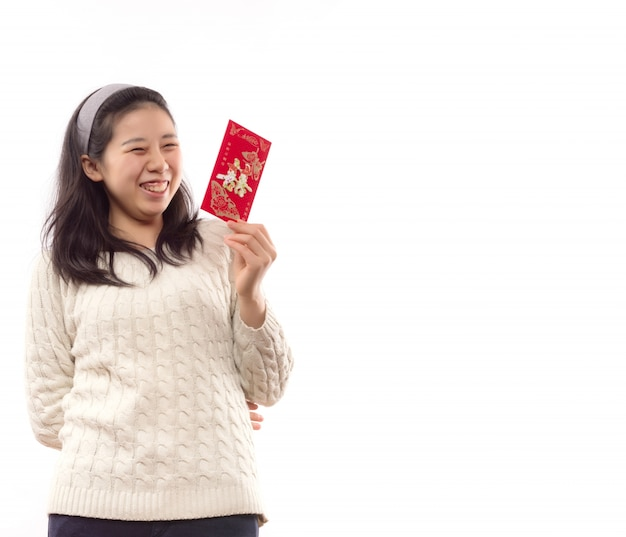 Kledij chinese cheongsam meisje envelop
