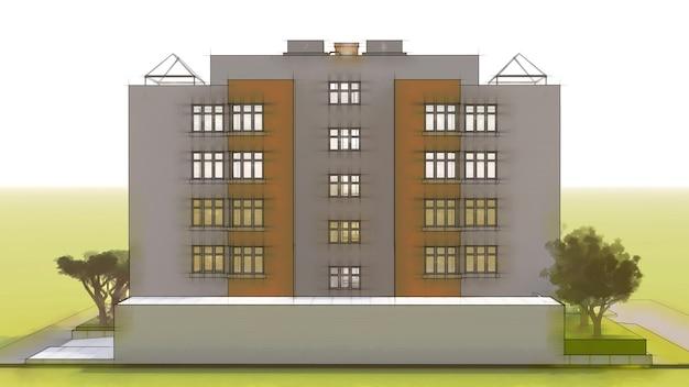Klein functioneel condominium met een eigen afgesloten garage en zwembad