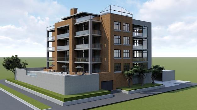 Klein functioneel condominium met een eigen afgesloten ruimte