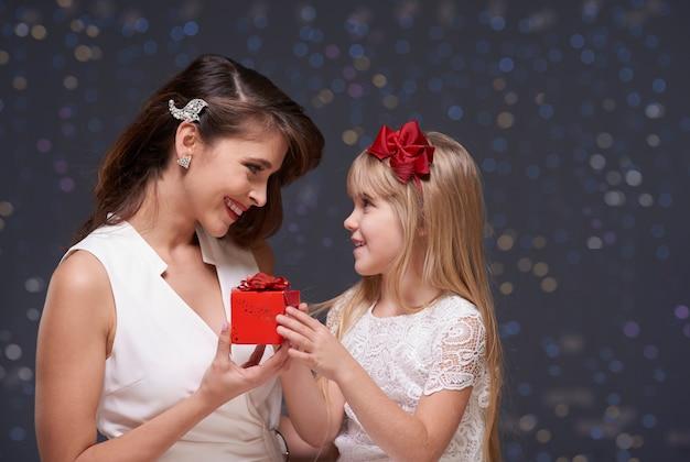 Klein verjaardagscadeau voor moeder