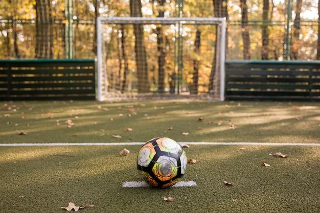 Klein voetbalveld