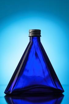 Kleine blauwe flesjes