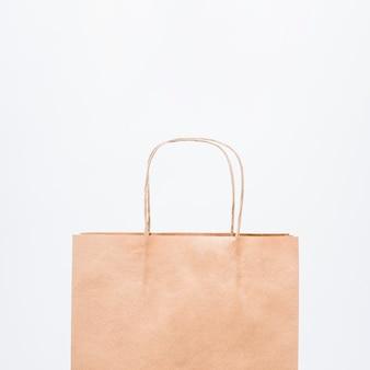 Kleine boodschappentas met handgrepen