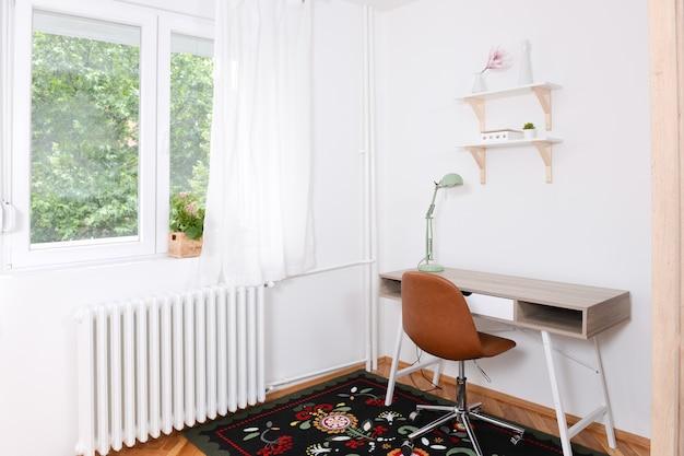 Kleine en gerenoveerde werkruimte