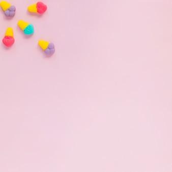 Kleine gelei ijsjes