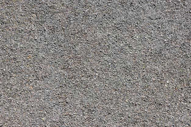 Kleine grijze grind achtergrond textuur extreme close-up