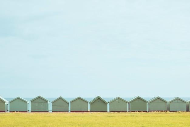 Kleine huizen horizon
