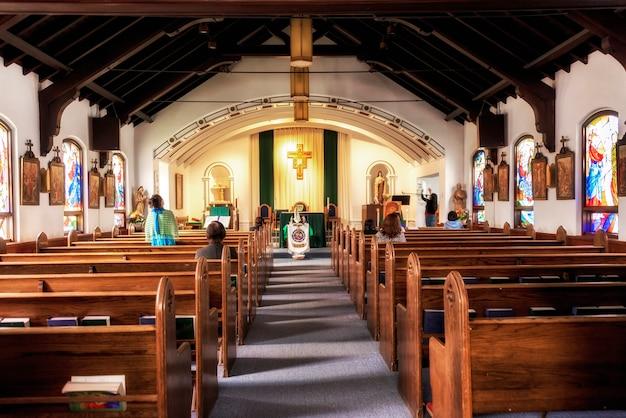 Kleine kerk in alaska