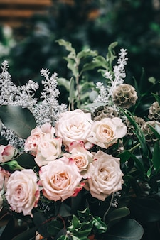 Kleine onderneming van bloemenwinkel