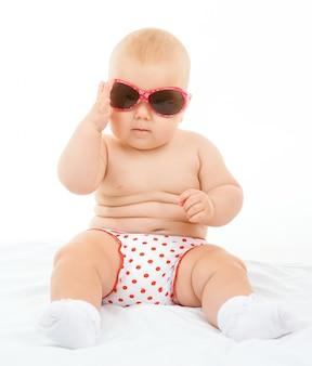 Kleine schattige baby