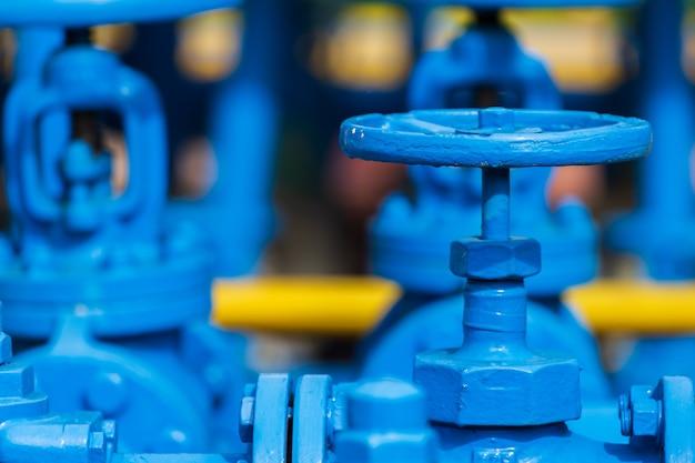 Kleppen bij gasfabriek