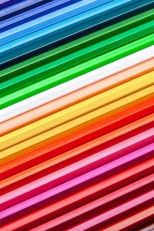 Kleur potloden achtergrond