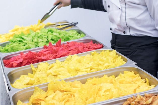 Kleurchips, verkoop van kleurchips