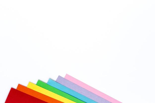 Kleuren van de regenboog, symbool van lgbt