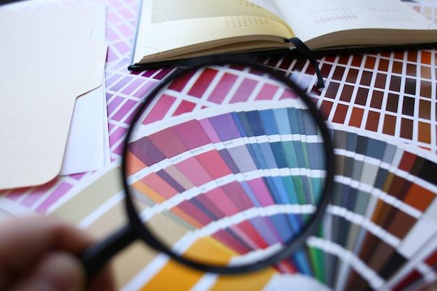 Kleurenprint van pantone statistieken offset
