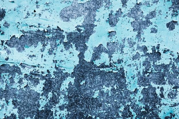 Kleurovergang blauwe muur sjabloon met kopie ruimte