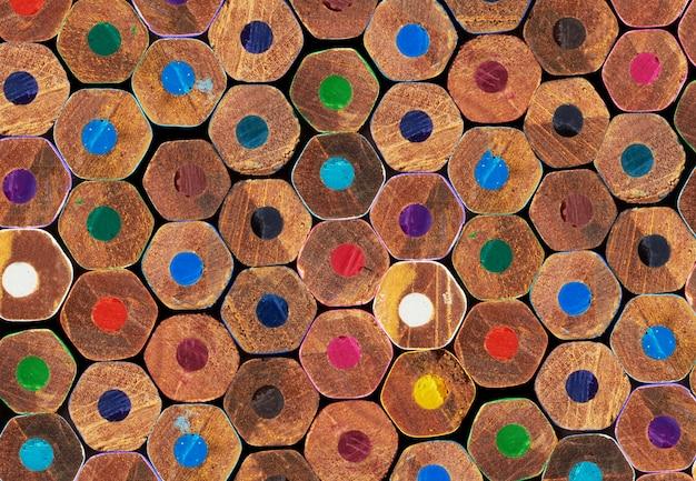 Kleurpotloden achtergrond