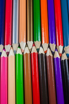 Kleurpotloden textuur achtergrond