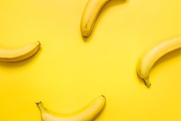 Kleurrijk banaanconcept