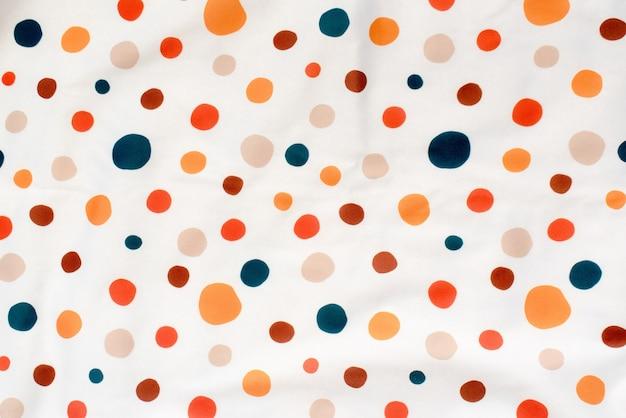 Kleurrijk bedrukt doek