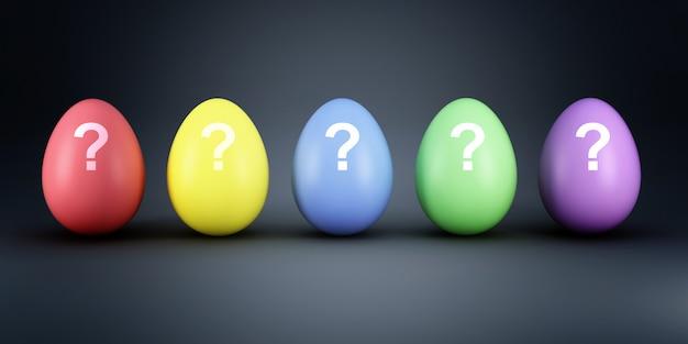 Kleurrijk eierenmyistery