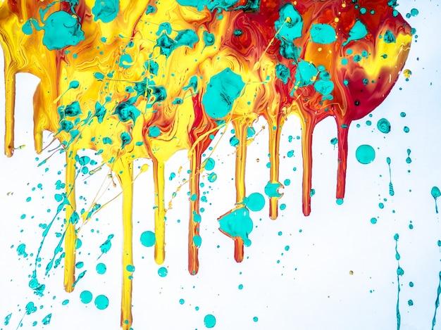 Kleurrijk geïsoleerd schilderen