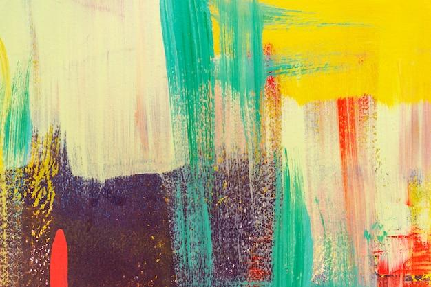 Kleurrijk geschilderd op concrete muur abstracte achtergrond. retro en vintage achtergrond.