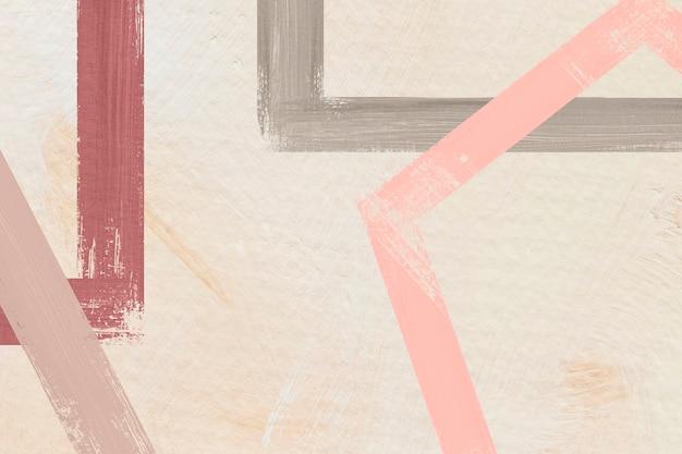 Kleurrijk geschilderde frame abstract
