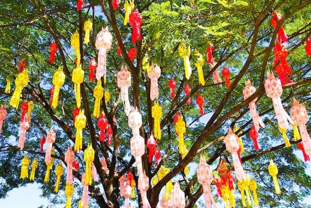 Kleurrijk lantaarnfestival