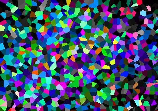 Kleurrijk mozaïek abstract textuurpatroon, zacht vervagen achtergrondbehang