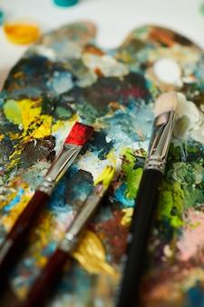 Kleurrijk palet