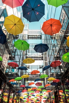 Kleurrijk parapludak