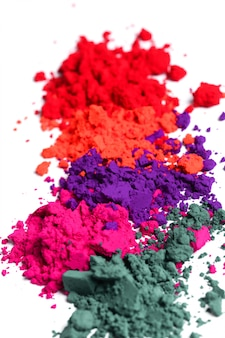 Kleurrijk poeder, holi-festivalconcept
