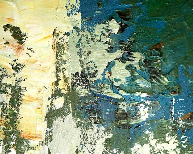 Kleurrijk schilderij abstracte achtergrond met textuur