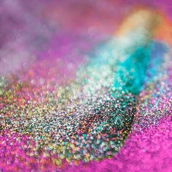 Kleurrijk schitter bokeh lichtenachtergrond