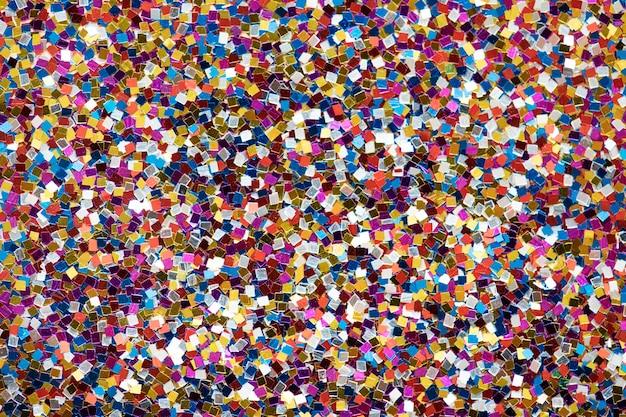 Kleurrijk schitter geweven achtergrondsamenvatting