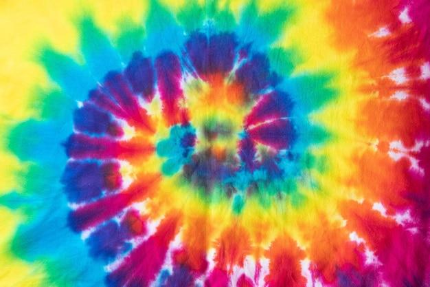Kleurrijk stropdaskleurstofpatroon voor achtergrond.