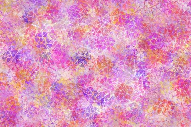 Kleurrijke abstracte achtergrond met gemengde verschillende vormen