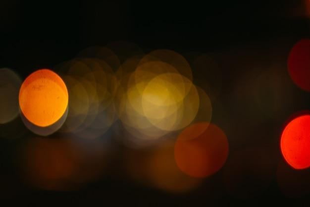 Kleurrijke abstracte bokehachtergrond
