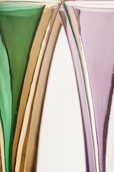 Kleurrijke abstracte bril