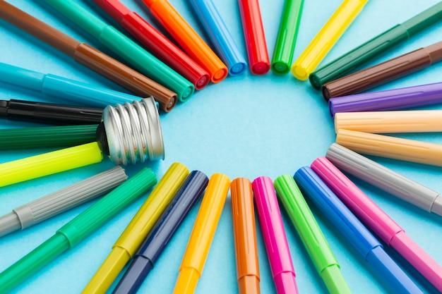 Kleurrijke abstracte innovatiesamenstelling