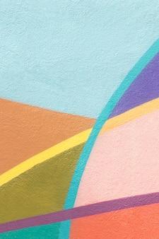 Kleurrijke abstracte muur achtergrond