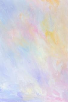Kleurrijke abstracte pastel aquarel