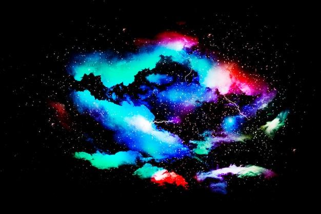 Kleurrijke abstracte universum getextureerde ruimte background.jpg