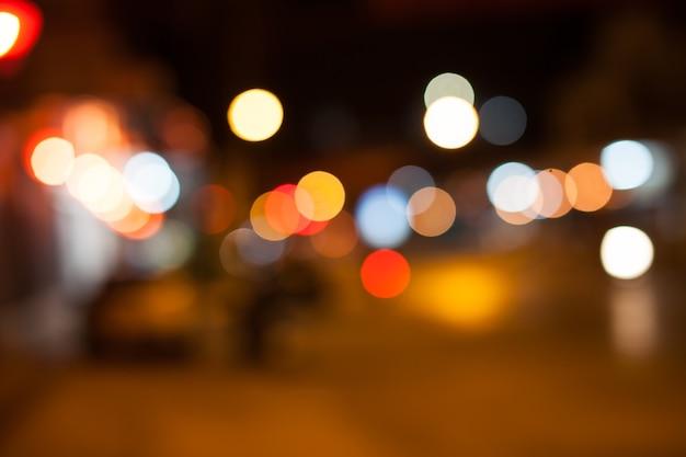 Kleurrijke achtergrond wazig bokeh textuur en intreepupil sprankelende lichten.
