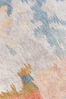 Kleurrijke acryl penseelstreek getextureerde achtergrond