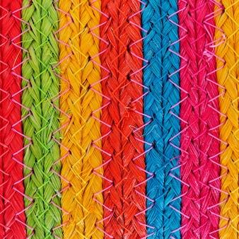 Kleurrijke afrikaanse peruviaanse de oppervlakte dichte omhooggaand van de stijlvoering. meer van dit motief en meer textiel in mijn port.