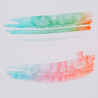 Kleurrijke aquarel abstracte achtergrond